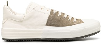 Officine Creative Oliver suede panelled sneakers