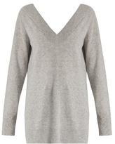 Equipment Linden deep V-neck cashmere sweater