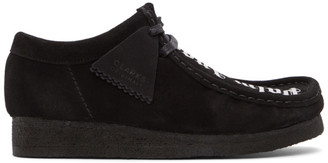 Palm Angels Black Clark Originals Edition Wallabee Desert Boots