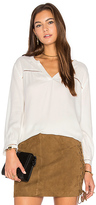 Soft Joie Farna Blouse in White. - size L (also in )