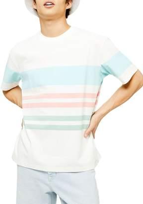 Topman Tedium Stripe T-Shirt