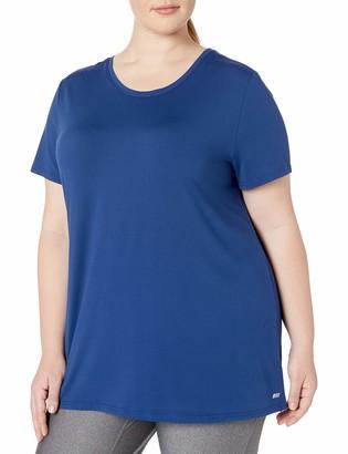 Amazon Essentials Plus Size Tech Stretch Short-sleeve Crewneck T-shirt Navy 6X
