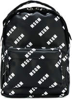 MSGM branded backpack