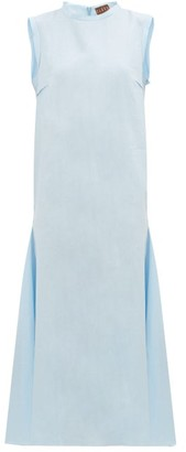 ALBUS LUMEN Agaso Sleeveless Linen Dress - Light Blue