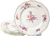 One Kings Lane Vintage Royal Worcester Dinner Plates, S/7