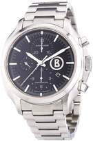 Junghans Men's Automatic Watch Bogner Willy Chronoscope Chronograph XL Stainless Steel 027/4266.44