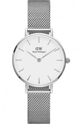 Daniel Wellington Ladies Classic Petite 28 Sterling White Watch DW00100220