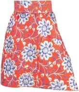 Thumbnail for your product : Maison Rabih Kayrouz Floral Jacquard Mini Skirt