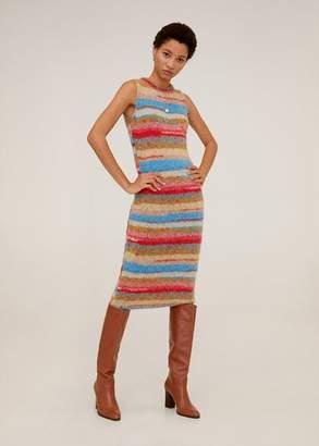 MANGO Chunky knit dress
