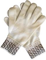 Fendi woollen gloves