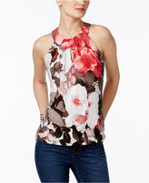 INC International Concepts Floral-Print Halter Top, Only at Macy's