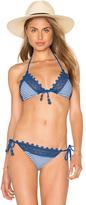 Seafolly Riviera Striped Triangle Bikini Top
