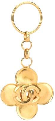Chanel Pre Owned CC cloverleaf key holder