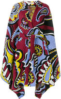 Emilio Pucci belted embroidered coat