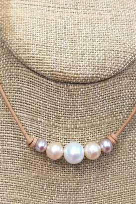 Lily Chartier Pearls Multicolor Pearl Necklace
