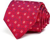 Turnbull & Asser Neat Flower Wide Tie