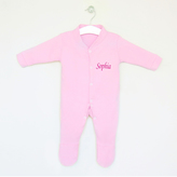 My 1st Years Personalised Sleepsuit - Pink