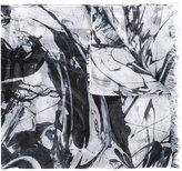 Issey Miyake printed scarf - men - Rayon - One Size