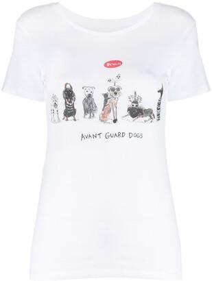 AG Jeans Unfortunate Portrait Dogs T-shirt