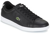 Lacoste CARNABY EVO BL 1 women's Shoes (Trainers) in Black