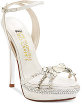 Red Carpet E! Live From the Lola Platform Evening Sandals