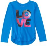 "adidas Girls 4-6x Love"" Soccer High-Low Tee"