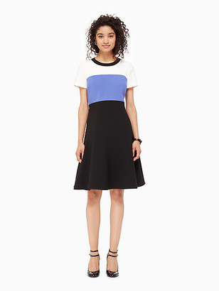 Kate Spade Colorblock Crepe Flip Dress
