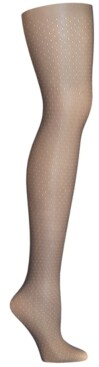 Hanes Women's Curves Dot Net Tights