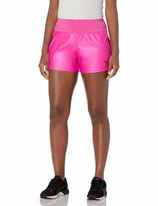 "Puma Women's 4"" Shimmer Training Shorts"