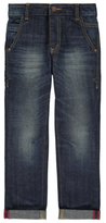 George Straight Leg Denim Jeans