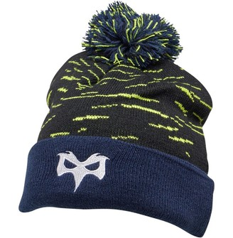 Canterbury of New Zealand Osprey Rugby Acrylic Bobble Hat Black