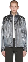 C2H4 Silver Reflective MTRO Piped 3M Track Jacket