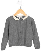 Caramel Baby & Child Girls' Crew Neck Cardigan