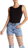 Jella C. Sleeveless O-Ring Bodysuit