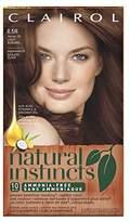 Clairol Natural Instincts, 6.5R / 16 Spiced Tea Light Auburn, Semi-Permanent Hair Color, 1 Kit