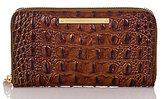 Brahmin Melbourne Collection Suri Croco-Embossed Wallet