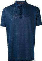 Loro Piana classic polo shirt - men - Linen/Flax - XXXL