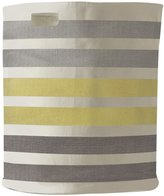 Pehr Designs 3 Stripe Hamper, Grey/Yellow