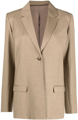 Totême Single-Breasted Blazer Jacket