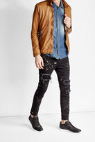 Giorgio Brato Collared Leather Jacket
