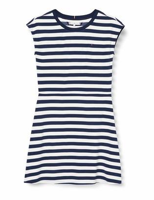 Tommy Hilfiger Girl's Essential Stripe Skater Dress SS
