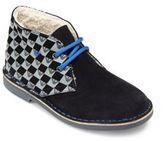 Armani Junior Kid's Faux Fur-Lined Chukka Boots