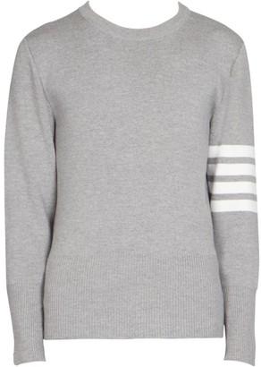 Thom Browne Stripe Milano Stitch Wool Sweater
