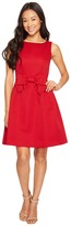 Tahari by Arthur S. Levine Petite Bow Fit and Flare Dress Women's Dress