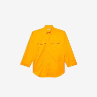Oversize Button-Down Shirt