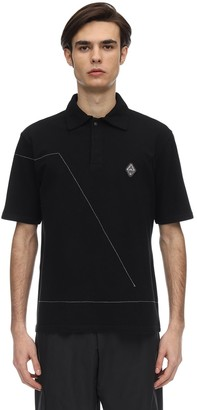A-Cold-Wall* Rhombus Badge Cotton Polo