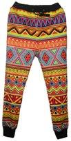 Uideazone Fashion Sport Jogging Pants 3D print Star Trousers Black