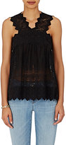 Ulla Johnson Women's Birdie Sleeveless Top-BLACK