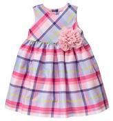 Gymboree Plaid Rosette Dress