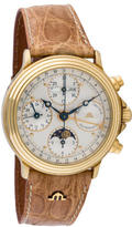 Maurice Lacroix Moon Phase Chronograph Watch
